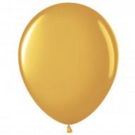 Шар (12''/30 см) Золото (818), металлик, 100 шт.
